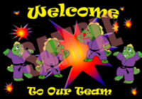 Children's Welcome Postcard