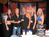 The Lean & Fit Team at this years MA Show 2004